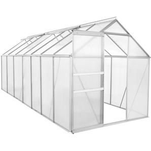 Zelsius Serre en aluminium   430 x 190 cm   Panneaux de 6 mm, 8,17m²