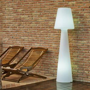LOLA-Lampadaire dextérieur avec câble H165cm Blanc New Garden