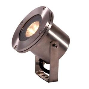 Spot projecteur à piquer ou visser ARIGO 3W MR16 IP68 Blanc Chaud Orientable éxterieur Garden lights ampoule fournie - GL411