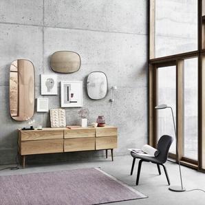 Muuto Miroir Framed - S - gris
