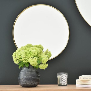 Miroir rond  Ø40 en laiton