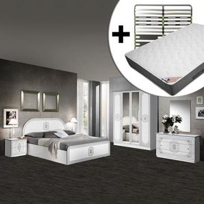 Solaya - Chambre Complète 160x200cm + Sommier AltoZone + Matelas Bermudes