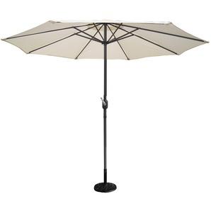 Figari écru : Parasol Ø 270cm