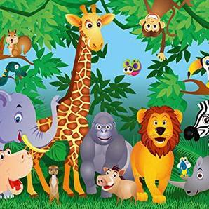 Idealdecor 122 Papier Peint Motif Jungle 366 x 254 cm