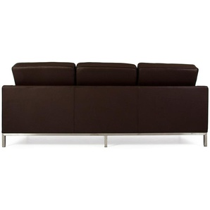 Lounge Knoll 3 Places - Marron