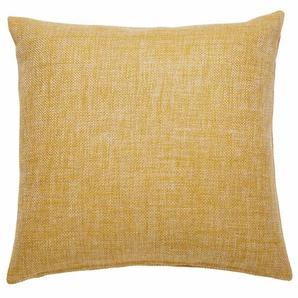 Coussin en tissu jaune 45x45cm ANDY
