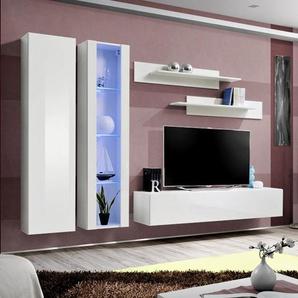 Ensemble meuble TV design blanc PADRU