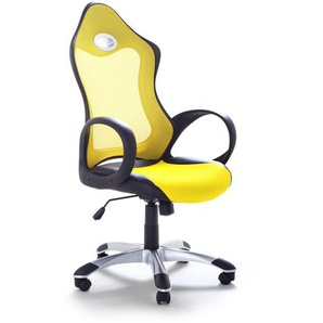 Chaise de bureau - fauteuil design jaune ICHAIR
