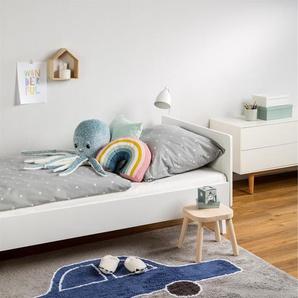 Tapis lavables pour enfants Bambini Car Bleu 150x200 cm - Tapis lavable pour chambre denfants/bébé