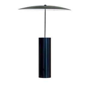PARASOL-Lampe à poser LED tête pivotante avec variateur H50cm noir satiné Innermost - designé par Jonas Forsman