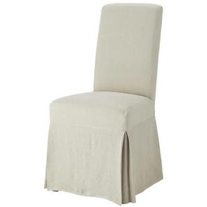 Housse longue de chaise en lin lavé Margaux