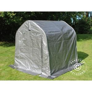Tente de stockage Tente Abri PRO 2x2x2m PE, Gris - DANCOVER