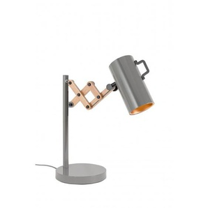 Lampe à poser extensible FLEX bois et acier