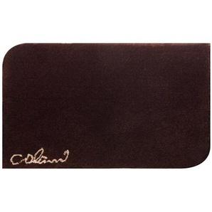 Colani Tapis de Bain Colani Marron 60x60 cm - Tapis pour salle de bain