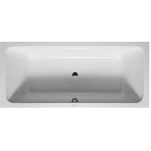 Baignoire Duravit D-code 1800 x 800 mm - avec pieds - Acrylique Blanc