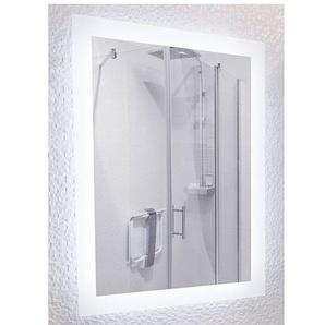 Miroir de salle de bains avec éclairage LED - Modèle 60 - 80 cm x 60 cm (HxL) - PRADEL