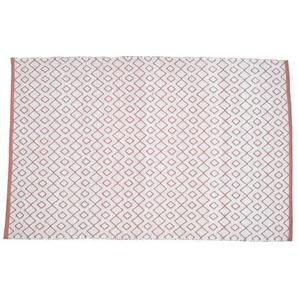 SOLYS Tapis dextérieur - PVC - 120 x 180 cm - Marron safran
