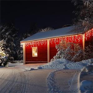 Blumfeldt Dreamhouse Snow Guirlande lumineuse de Noël 16m 320x LED Effet neige - blanc chaud
