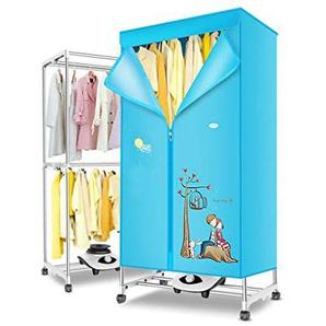DSLYC Protable Linge Maison Sèche-Linge Petit séchoir à séchage Rapide des vêtements Amples Capacité Garde-Robe sèche-dortoir étudiant