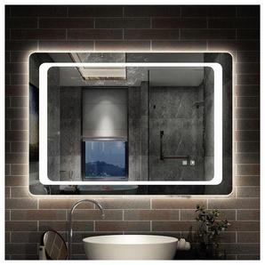 Miroir de salle de bain anti-buée 100x70cm miroir de salle de bain - AICA SANITAIRE