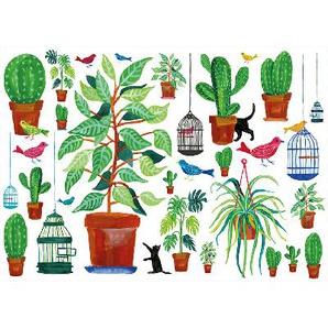 Lekkerplekkùh Autocollants de fenêtre Flora & fauna