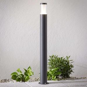 Borne lumineuse LED Amily, gris foncé, 90cm