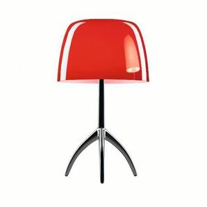 Foscarini Lampe de table Lumiere Piccola - ciliegia - dimmable - Cromo Nero