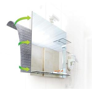 Chauffage miroir avec élément chauffant par câble 38 W – 420 x 500 mm - WARM-ON