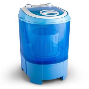 oneConcept SG003 - Machine à  laver transportable avec fonction essorage pour camping, studio, chambre étudiant (tambour 2,8kg, dimensions mini, silencieuse)