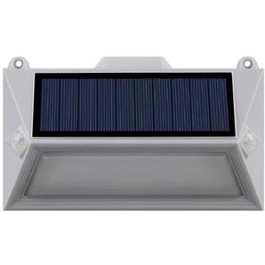 LUMISKY Spot solaire mural extérieur étanche avec détecteur - 18 LEDs - 150 Lm - Pivotante à 360°C
