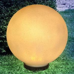 Lampe solaire à piquet Preeti 30 cm aspect pierre