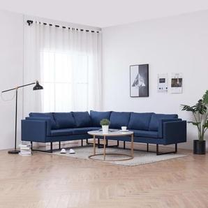 Canapé dangle Bleu Tissu