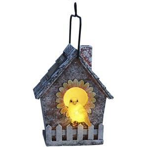 Lampe solaire LED Volière (Vogelhaus)