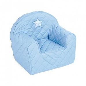Fauteuil enfant avec étoile - Bleu