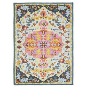 Tapis classique laine à motifs BONDI