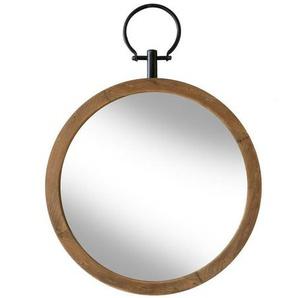 Grand miroir en bois Flint - Boite à design