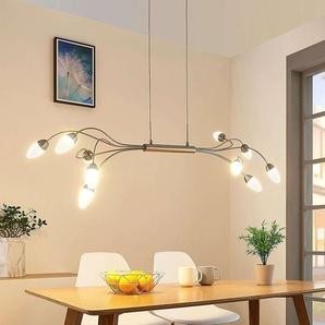 Suspension LED Deyan à 10 lampes, dimmable