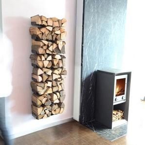 Radius Wooden Tree étagère murale en bois de chauffage - M