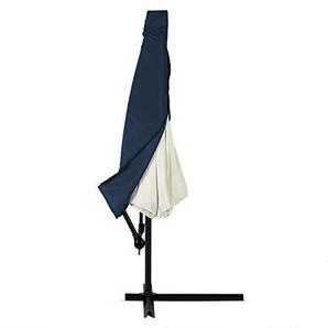 Deuba Housse pour Parasol - Ø 3,5m - Bleu