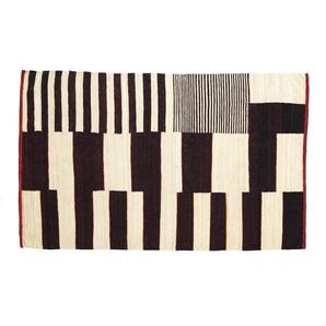 Nanimarquina Tapis Medina - 200 x 300 cm - noir/ beige