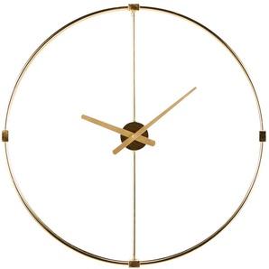 Horloge en métal doré D71