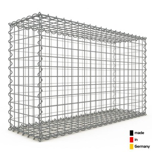 Gabion 100x60x30cm « made in Germany » - mailles carrées 5x5cm - GABIONDECO