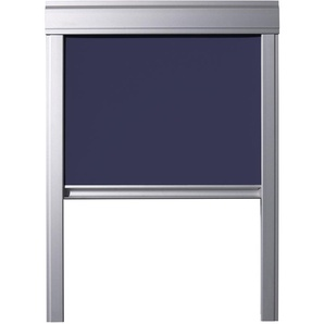 Store Occultant Itzala pour Fenêtres De Toit VELUX, U08, UK08, 808, 8, Bleu Foncé