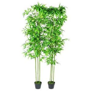 Lot de 2 Bambous artificiels Décor intérieur 190 cm - VIDAXL