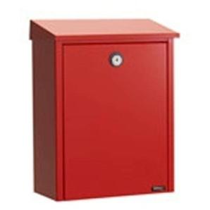 Boîte aux lettres 200 en acier rouge