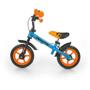 Vélo / Draisienne avec frein pour enfant 2-4 ans Dragon | Bleu et Orange - MILLY MALLY