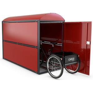 WSM Garage à vélos « BikeBox 2 », complet, dimensions extérieures l x H x L 850 x 1 380 x 2 080 mm