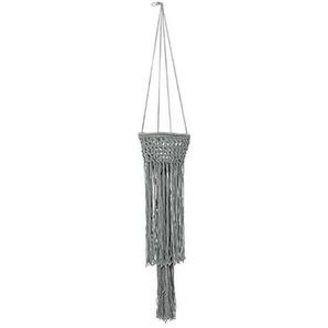 Bloomingville Griseo - Pot de fleurs suspendu - Fin de série - gris/Ø20xL120 cm