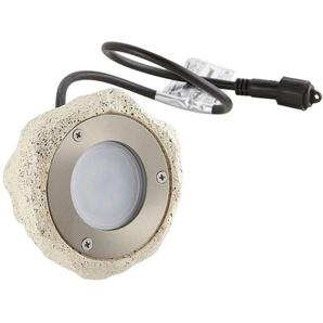 Spot projecteur Cailloux Sable Luminaire STONE GU10 MR16 IP67 extérieur EASY CONNECT ampoule fournie - 65020