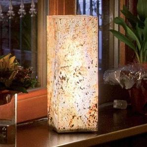 Colonne lumineuse en ardoise hauteur 25 cm